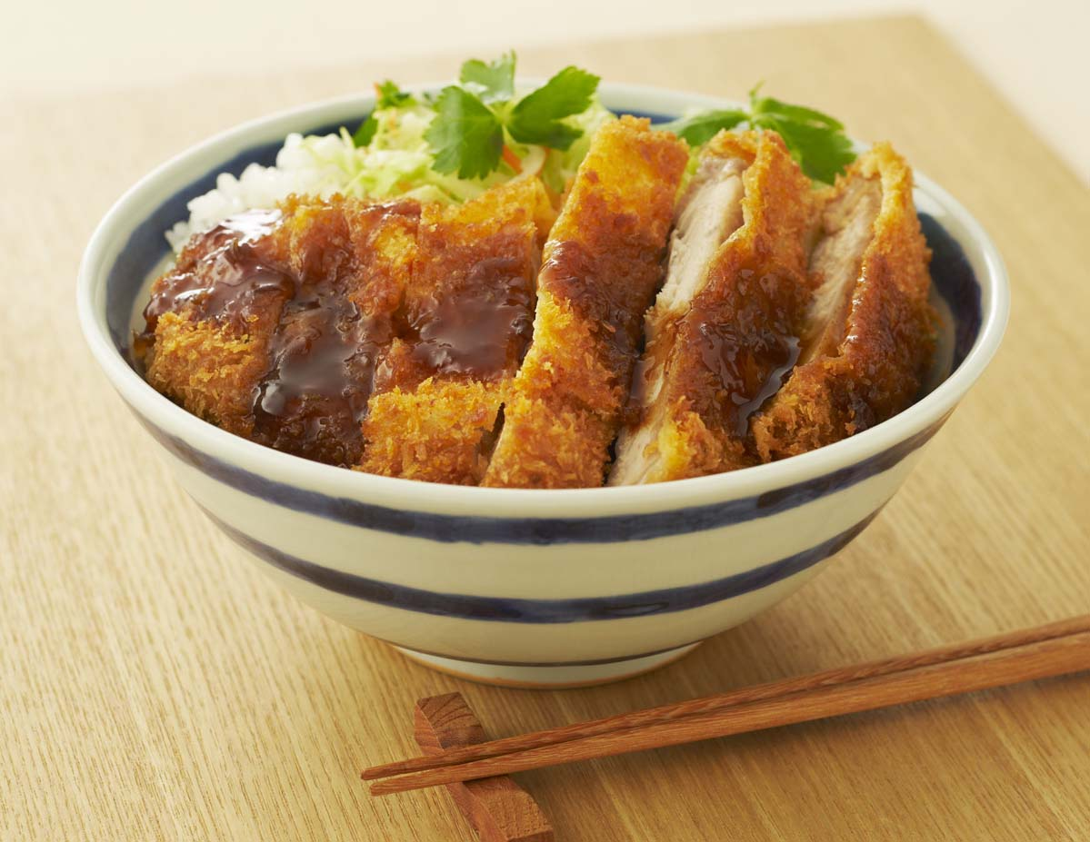 ソースカツ 丼 レシピ