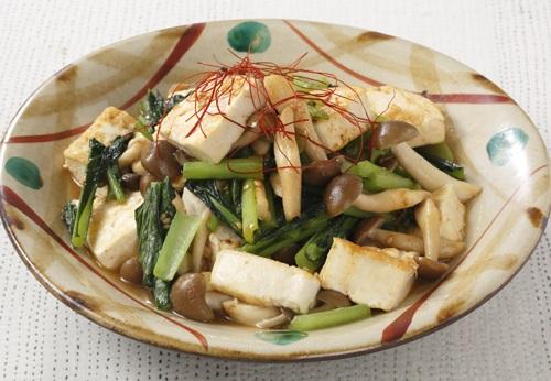 チャンプルー 豆腐